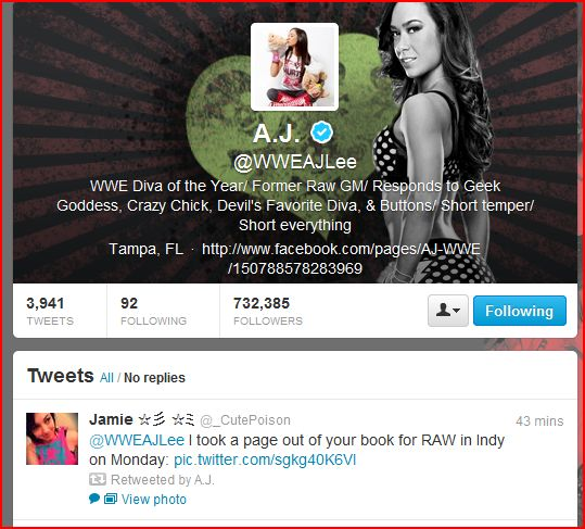 AJLEE Retweet
