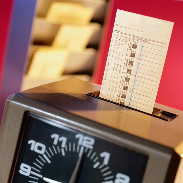 time-card-machine